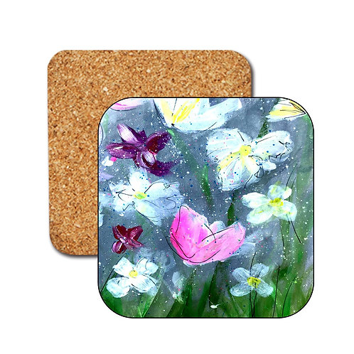 Flower meadow Coasters