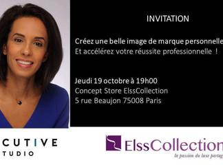 INVITATION - Soirée Conférence - Jeudi 19/10 - Créez une belle image de marque personnelle