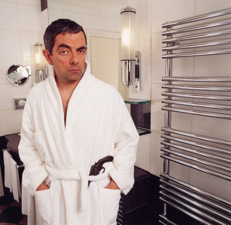 Rowan Atkinson by Côme Bardon