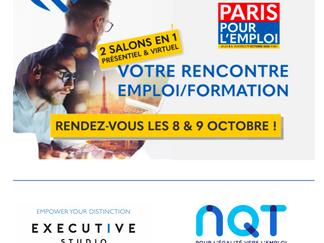 Executive Studio, partenaire de NQT au Salon Paris Pour l'Emploi 2020