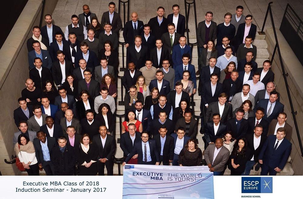 ESCP - Executive MBA 2018