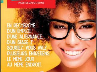 Executive Studio partenaire de NQT sur le Salon Paris Pour l'Emploi des Jeunes 2018