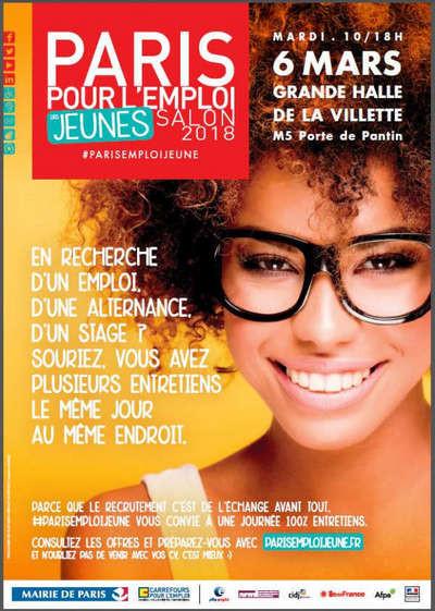 Salon Paris pour l'emploi des Jeunes 2018 - NQT