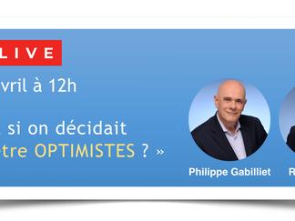 """🔵 Live ANDRH -  """"Et si on décidait d'être optimistes ?"""", jeudi 29/4 à 12h"""