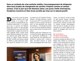 """Article de presse - Medef en Seine -""""Révéler l'énergie pour un nouveau départ"""""""