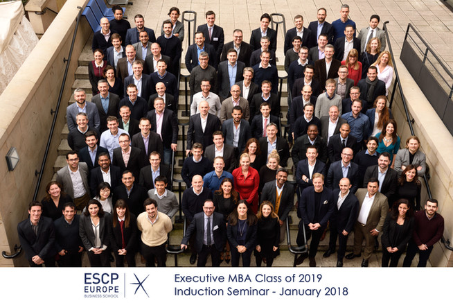 ESCP Executive MBA 2019 - Induction Seminar