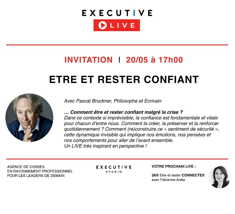 Pascal Bruckner - LIVE - Executive Studio