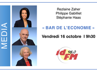 "Executive Studio en direct ! Emission ""Bar de l'Economie""sur ID FM98 - 16/10 à 9h30"