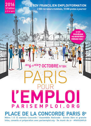 Paris pour l'emploie 2017