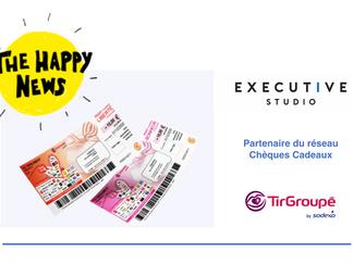 EXECUTIVE STUDIO, Partenaire du réseau Chèques Cadeaux Tir Groupé by Sodexo 🎁