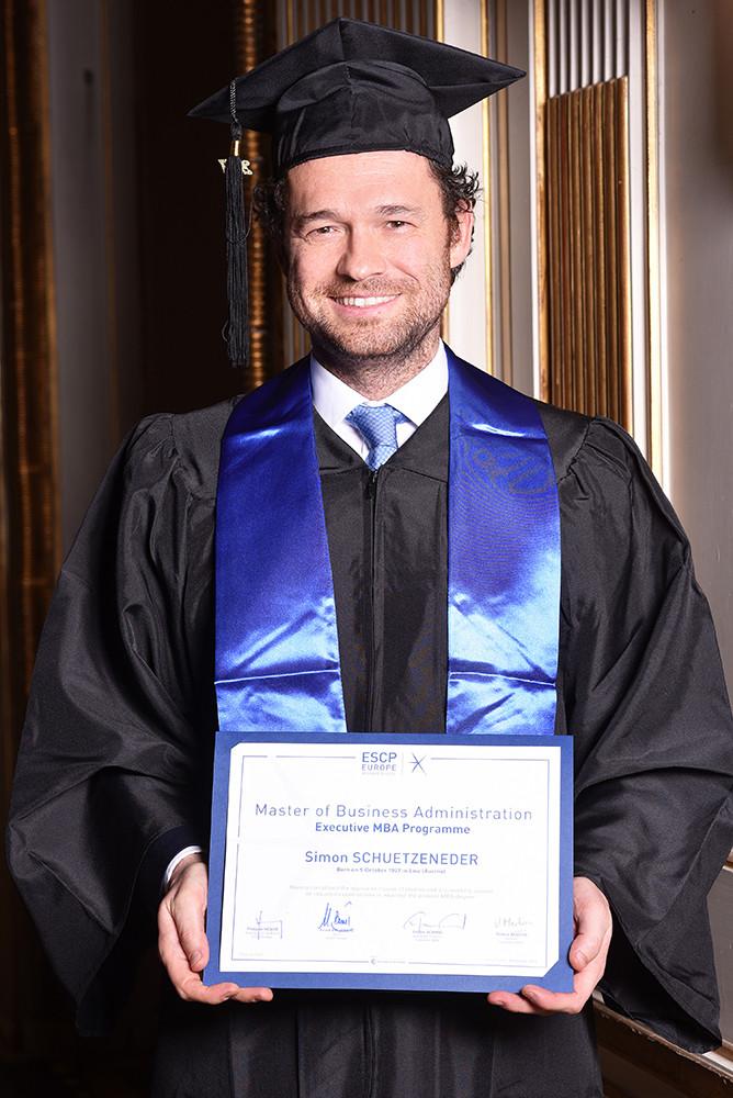 ESCP Europe - Executive MBA 2017 Graduation Ceremony