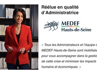 Rezlaine Zaher - Fondatrice & Dirigeante @Executive Studio - Réélue Administratrice Medef 92