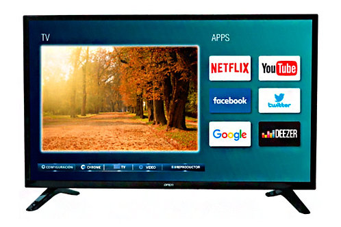 "Televisor Open 32"" 80cm LED Smart tv HD OPLED3203S"