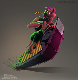 HyenaMotorcycleConceptPainting001