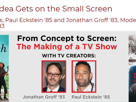 How a Big Idea Gets on the Small Screen