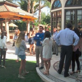 Admitted Students Reception 2018