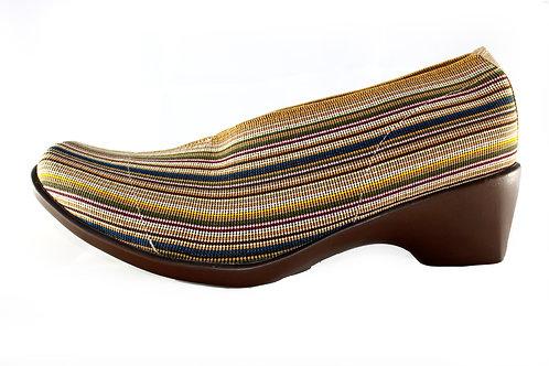 Mocasin Oregon Beige Stripes
