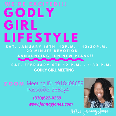 Godly Girl Life Style Ministry