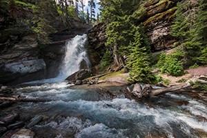 101 Travel Bits: Glacier National Park - Waterfalls