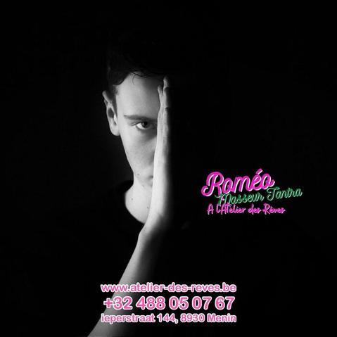 Roméo masseur pour homme atelier des reves