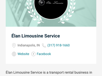 We made the pick of 20 best limousine services in Indianapolis