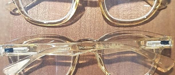 Klassiska läsglasögon Champagne