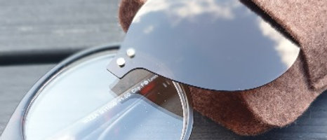 Läsglasögon med magnetclipon