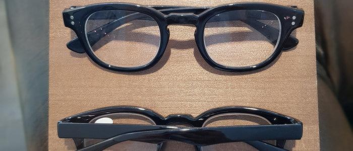 Klassiska läsglasögon Svart