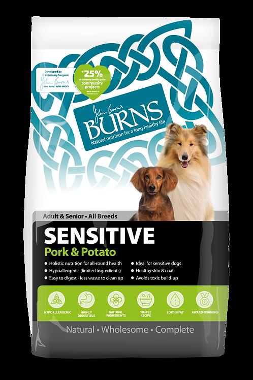 Burns Sensitive Pork