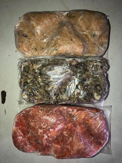 DAF RAW BLOCKS 1 lb ( 454 grm )Box of 14