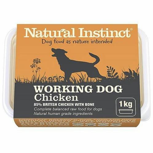 NATURAL INSTINCT W/D CHICKEN 1Kg / 2 x 500g