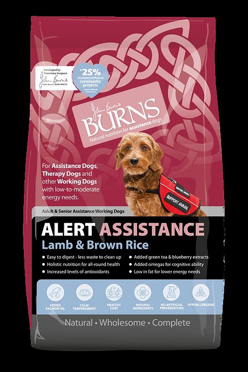 Burns Alert Assistance Lamb 6 Kg