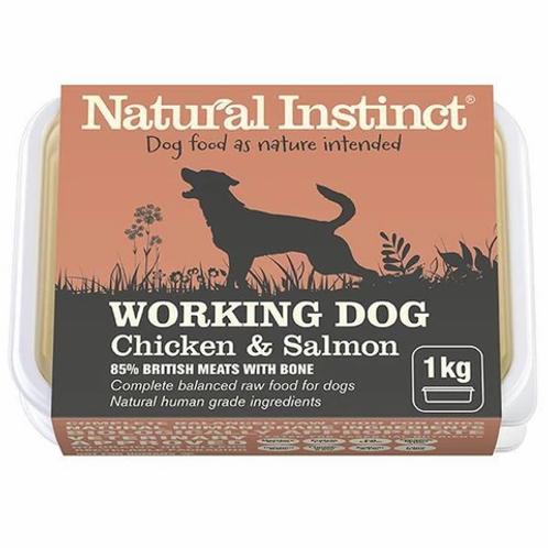 NATURAL INSTINCT W/D SALMON & CHICKEN 1Kg / 2 x 500g
