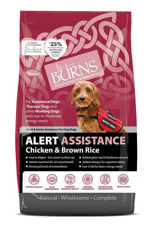 Burns Alert Assistance Chicken