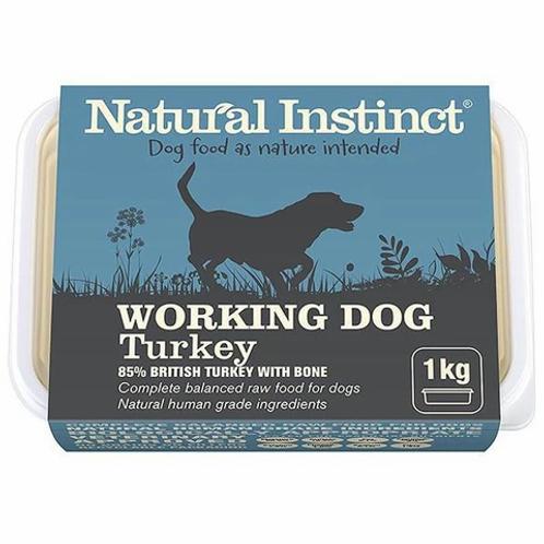 NATURAL INSTINCT W/D TURKEY 1Kg / 2 x 500g
