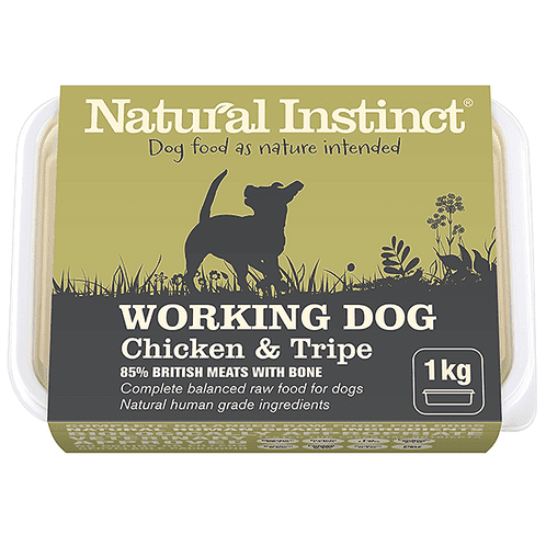 NATURAL INSTINCT W/D CHICKEN & TRIPE 1Kg / 2 x 500g