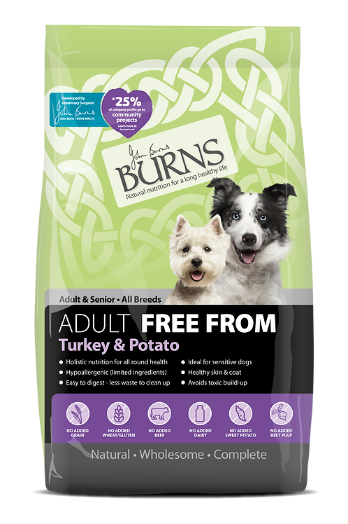Burns Adult Free From ,Turkey