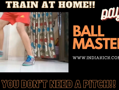 BALL MASTERY FOOTBALL DRILLS AT HOME FOR FREE!!