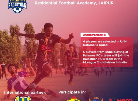 RAJASTHAN FC | UPCOMING FOOTBALL TRIALS IN INDIA