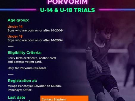 FC GOA-UPCOMING FOOTBALL TRIALS INDIA