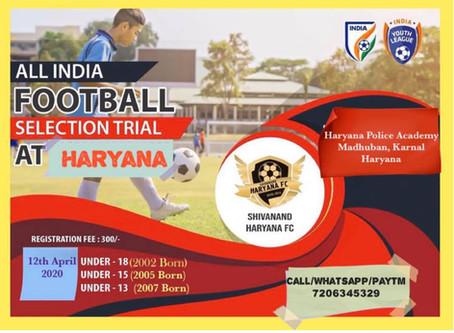 Shivanand FC Trials, Haryana