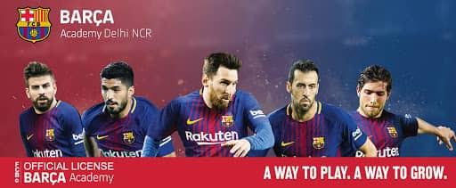 Barca academy | Top Five Football Academies In Delhi