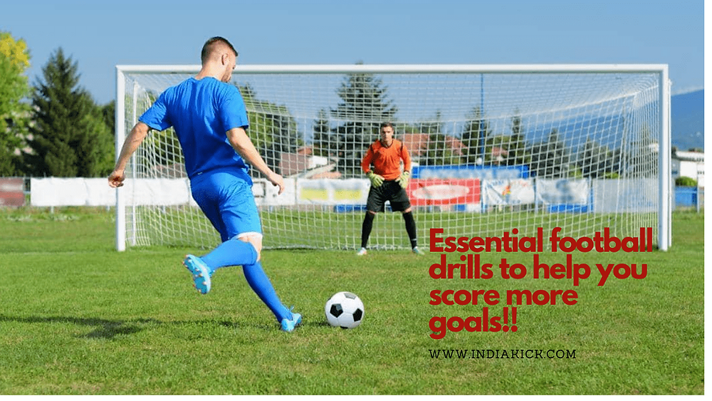 Football drills for free | Essential football drills to help you score more goals