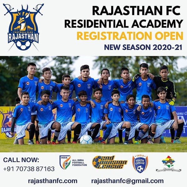 Football trials in India, Rajasthan FC trials