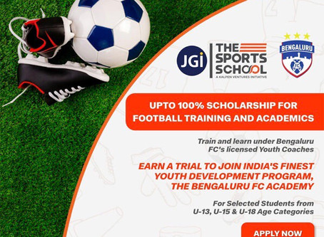 SCHOLARSHIP TRIALS BFC | UPCOMING FOOTBALL TRIALS IN INDIA