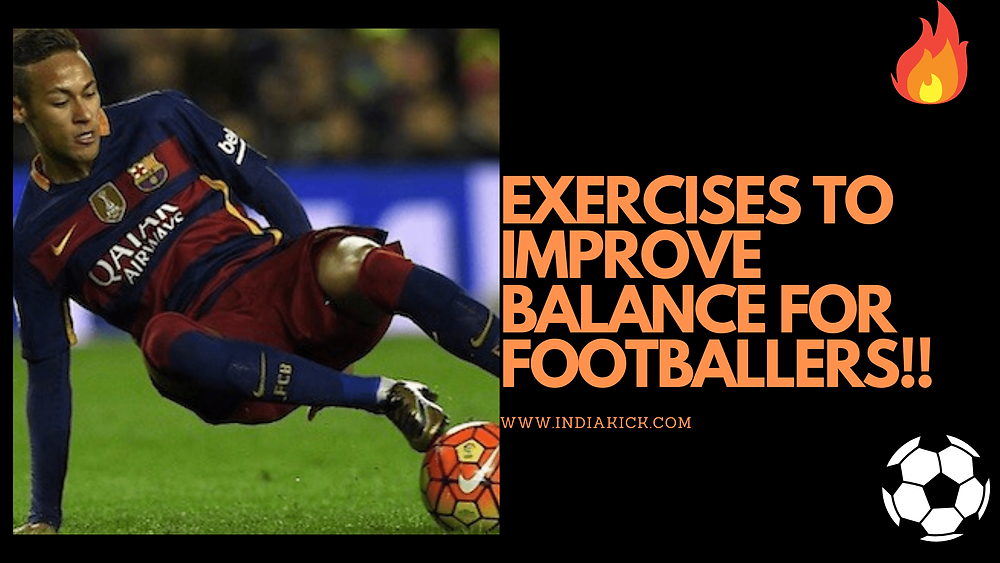 Exercises to improve balance for footballers |  football drills for free ll