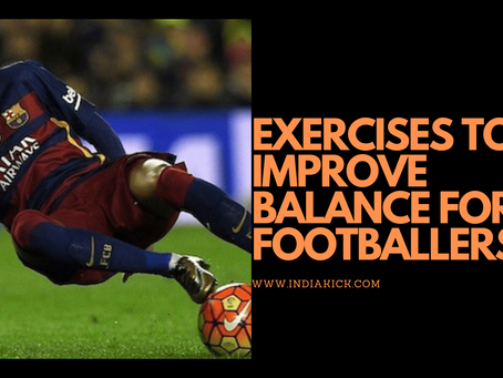 EXERCISES TO IMPROVE BALANCE FOR FOOTBALLERS!!