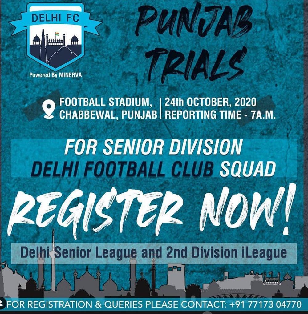 PUNJAB TRIALS | Upcoming football trials in India