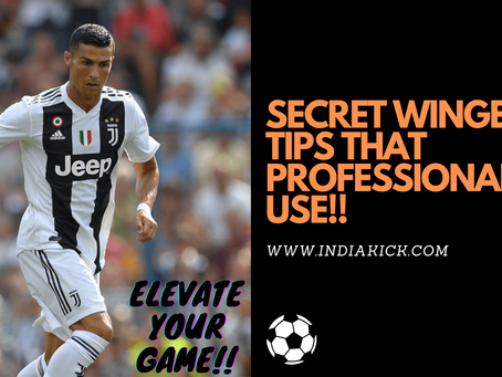 6 SECRET WINGER TIPS THAT PROFESSIONAL FOOTBALLERS USE!!