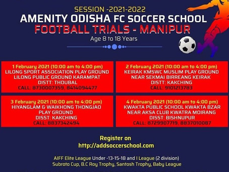 MANIPUR TRIALS(ODISHA FC) | UPCOMING FOOTBALL TRIALS